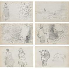 Camille Corot sketchbook