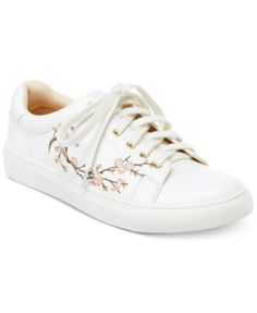 Nanette by Nanette Lepore Winona Blossom Lace-Up Sneakers, Only At Macys