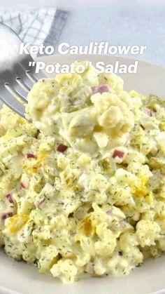 Ww Recipes, Easy Low Carb Recipes, Easy Meals, Low Carb Vegetarian Recipes, Low Carb Chicken Recipes, Cooking Recipes, Healthy Recipes, Cauliflower Recipes, Recipies
