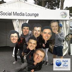"""""""Fun photos from the fans at the @pgatour Player's Championship taking photos with their favorite player's Build-A-Heads at the social media lounge in early May. #golf #pga #pgatour #makeyourown #events #marketing #bigheads #rickiefowler #bubbawatson #socialmedia #sergiogarcia #jordanspeith #rorymcelroy #miguelangeljimenez #golf #BuildAHead"""" Photo taken by @buildahead on Instagram, pinned via the InstaPin iOS App! http://www.instapinapp.com (06/10/2015)"""