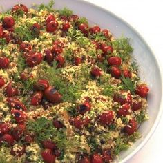Couscous+with+grilled+cherry+tomatoes+and+fresh+herbs