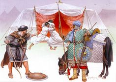 """Taifa Armies, N. Africa & Sicily, 11th century: • Sicilian archer •…"