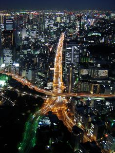 Tokyo at Night from Tokyo Tower|東京