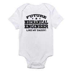 Future Mechanical Engineer Infant Bodysuit