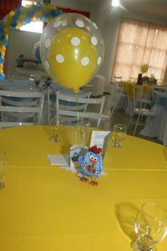enfeite de mesa convidados