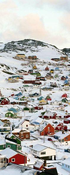Qaqortoq, Grønland.