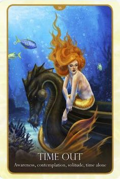 Billedresultat for oracle of the mermaids cards Mermaid Cove, Mermaid Tails, Mermaid Art, Tarot Cards For Beginners, Mermaid Images, Oracle Tarot, Tarot Card Meanings, Mermaids And Mermen, Angel Cards