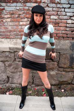 Model shoot in Portland's Pearl District, 2007.