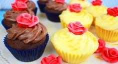 Cupcakes inspirados en La Bella Y La Bestia   Frutilla Picante