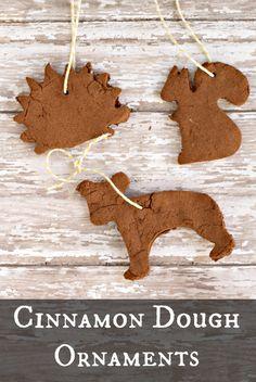 Kid's Craft: 2 Ingredient Cinnamon Dough Ornaments