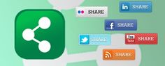 Pulsante di condivisione e share button social network