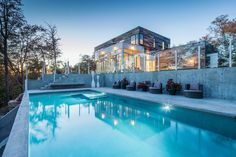 wonderful House with white paneled facades and large swimming pool