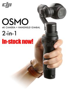 DJI OSMO 4K Camera and 3-Axis Stabilization Gimbal http://www.helipal.com/dji-osmo-4k-camera-and-3-axis-stabilization-gimbal.html