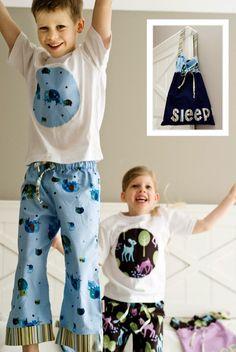 kids pyjamas tutorial