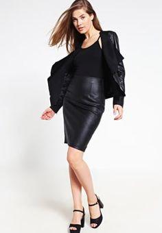 someday. OLIE - Falda de tubo - black - Zalando.es