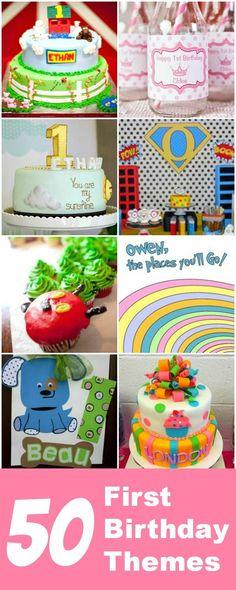50+ first birthday party theme ideas
