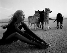 """""""A healthy woman is much like a wolf, strong life force, life-giving, territorily aware, intuitive and loyal. Yet seperation from her wildish nature causes a woman to become meager, anxious, and fearful. The wild nature carries the medicine for all things"""" -Clarissa Pinkola Estés, Women who run with wolves"""