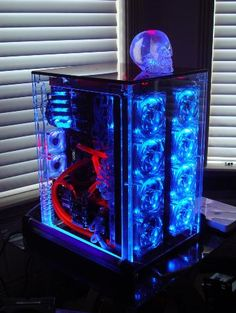 Illuminated PC Case Mod