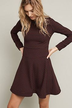 Leila Jacquard Dress