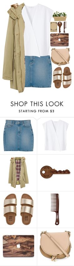 """""""2.3.17"""" by kianahall ❤ liked on Polyvore featuring Monki, MANGO, Pull&Bear, Billabong and Chloé"""