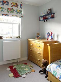 Bayswater Family Home boy's bedroom multicoloured elephant roman blind