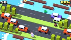 Crossy Road created by Hipster Whale. Purpose: Advance the mascot as far as possible without dying , passing through many obstacles and getting coins to switch the mascot and the environment. It teaches to have more coordination, and to move faster with the exact moves, for not making the mascot crush an obstacle.Teaching it by making you make the moves in a limited amount of time. Possible subject: Math A)Topic-1 B)Strategy-2 C)Coordination-5 D)Teamwork-0 E)Thinking-2 F)Story-0