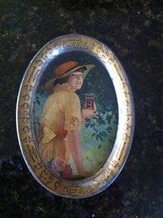 Coca Cola Tip Tray original Elaine by LittleAntiques on Etsy, $100.00