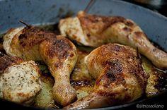 Полнети копани / Stuffed chicken legs