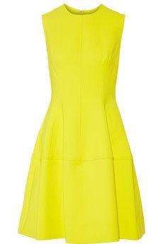 Lela Rose Cotton-blend dress | THE OUTNET