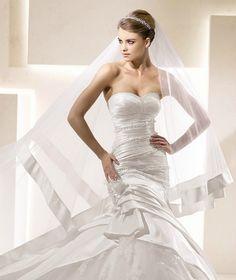 Os 4 diferentes tipos de véu de noiva. Qual é seu estilo?