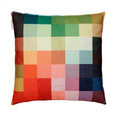 "Pixel Cushion ""Fire,"" Christian Zuzunaga."