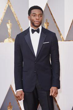 Chadwick Boseman aux Oscars 2016