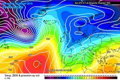 Meteociel - Cartes du modèle numérique GFS pour l'Europe