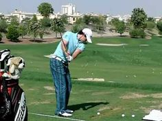 Rory McIlroy Slow Motion Golf Swing (Iron) TL 2011