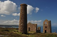 Wheal Coates, between Chapel Porth and St Agnes, Cornwall. One of the locations for the BBC's 2015 Poldark series.