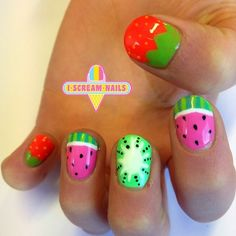 Fruit nail art is here to stay this Summer!