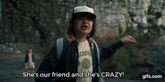 Best Scene from Stranger Things - She's our friend and she's CRAZY