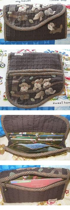 Japanese Patchwork, Japanese Bag, Patchwork Bags, Patchwork Designs, Quilted Bag, Quilting Projects, Sewing Projects, Work Handbag, Fabric Wallet