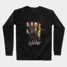 Witcher 3 -the Cute Hunt Crewneck Sweatshirt