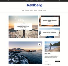 Blog Websites, His Travel, Travel Alone, Page Layout, Travel Agency, Wordpress Theme, Blogging, Solo Travel, Blog