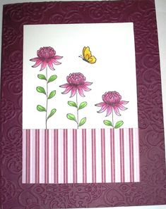 Razzleberry Flowers from the Field by Nan Cee's - Cards and Paper Crafts at Splitcoaststampers