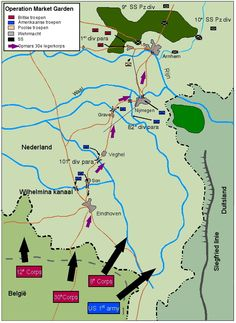 Operation Market Garden: the 5 bridges. World War II