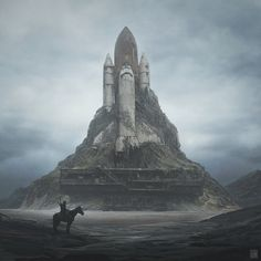Earth | A Series of Post-Apocalyptic Landscapes on Behance