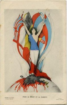 To the Right and Freedom - Raphael Kirchner