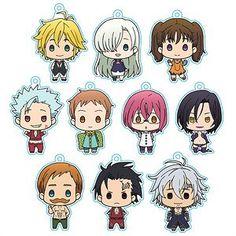 Anime Chibi, Kawaii Anime, Anime Art, Seven Deadly Sins Anime, 7 Deadly Sins, Naruto Painting, Netflix Anime, Seven Deady Sins, Anime Toys