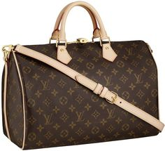 55653536561 Buy The Luxurious Louis Vuitton Speedy 35 Brown Top Handles Enjoy The  Fashion Life!
