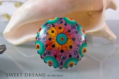 Incredible bead - fabulous color combo!