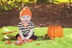 Crochet Pumpkin Hat by EmericksEssentials on Etsy