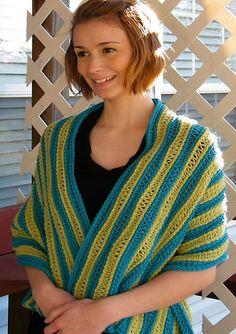 Free Pattern: Keiko Wrap | WIPs 'N Chains