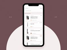 An image of the Product Details Screen Animation app concept, top mobile interaction design of December 2017